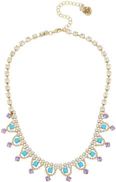 Betsey Johnson GRANNY CHIC CRYSTAL NECKLACE