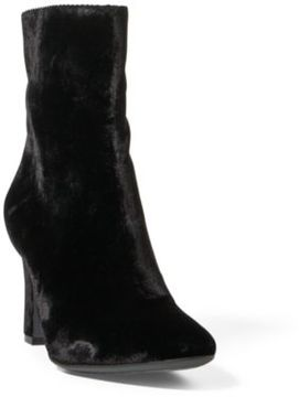 Ralph Lauren Bridgett Velvet Boot Black 10
