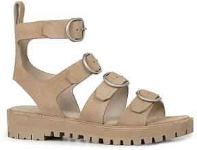 AllSaints Raquel Suede Buckle Sandals
