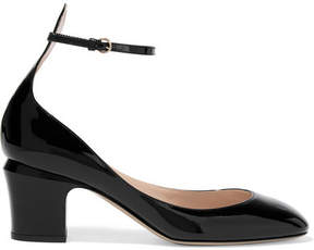 Valentino Tango Patent-leather Pumps - Black