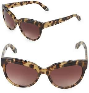 Zac Posen Women's Tennille 56MM Square Sunglasses