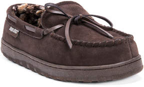 Muk Luks Paul Printed Suede Slippers