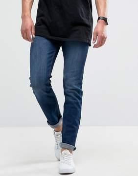 Loyalty And Faith Pillar Slim Stretch Jeans in Dark Wash