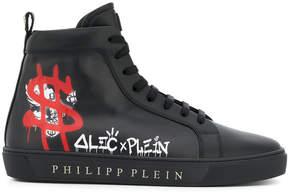 Philipp Plein Alec x Plein hi tops