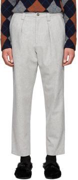 Acne Studios Grey Alfie Trousers