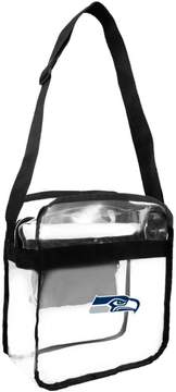 clear Officially Licensed NFL Carryall Crossbody - Seahawks