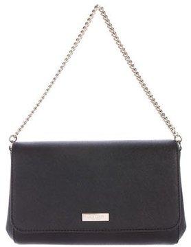Kate Spade Saffiano Leather Shoulder Bag - BLACK - STYLE