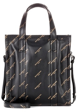 Balenciaga Bazar XS leather shopper