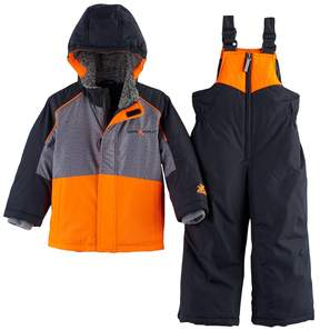 ZeroXposur Toddler Boy Heavyweight Jacket & Bib Overall Snow Pants Set