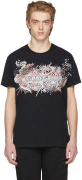 Burberry Black Darnley Sketchbook Scribble T-Shirt