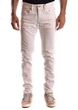 Siviglia Men's White Cotton Jeans.