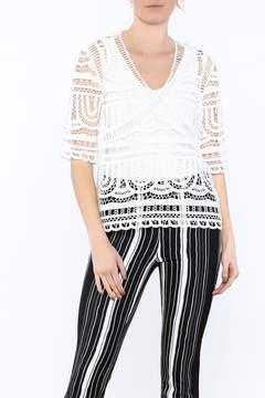 Goldie Sheena Crochet Top