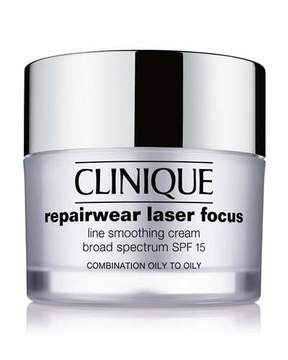 Clinique Repairwear Laser Focus SPF 15 Line Smoothing Cream - Combination Oily to Oily, 1.7 oz.