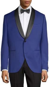 Lubiam Men's Wool Tuxedo Jacket