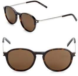 Saint Laurent 51MM Rounded Sunglasses