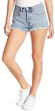 Billabong The Do Over Frayed Denim Shorts
