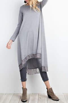 Easel Rayon Span Dress