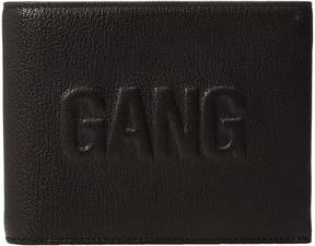 Neil Barrett Gang Embossed Wallet Wallet Handbags