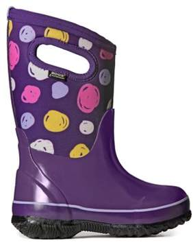 Bogs Kids' Sketched Dot Winter Boot Toddler/Pre/Grade School