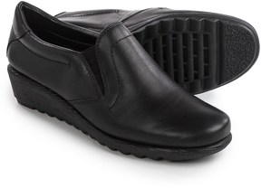 Italian Shoemakers Wedge Shoes - Leather (For Women)
