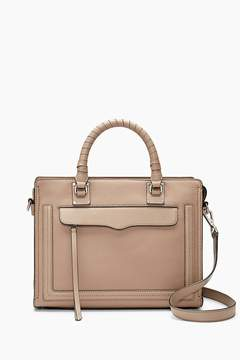 Rebecca Minkoff | Bree Medium Top Zip Satchel - NATURAL - STYLE