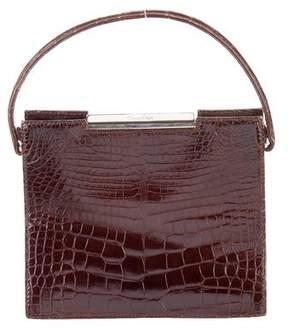 Calvin Klein Alligator Handle Bag