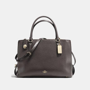 COACH Coach Brooklyn Carryall 34 - LIGHT GOLD/CHESTNUT - STYLE
