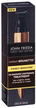 John Frieda Brilliant Brunette Visibly Brighter In Shower Lightening Treatment