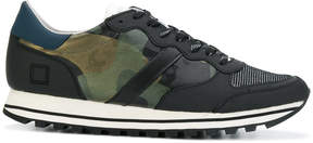 D.A.T.E camouflage print sneakers