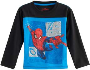Marvel Toddler Boy Spider-Man Raglan Tee