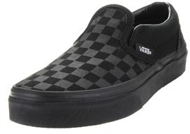 Vans Kids Classic Slip-on (checkerboard) Skate Shoe.