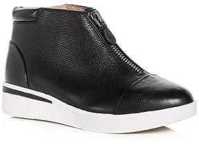 Gentle Souls Women's Hazel-Fay Leather Wedge Sneaker Booties