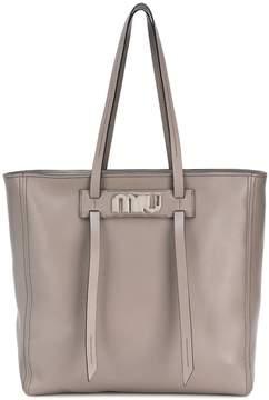 Miu Miu Grace Luxe leather tote