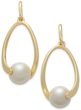 Charter Club Imitation Pearl Drop Earrings, Created for Macy's