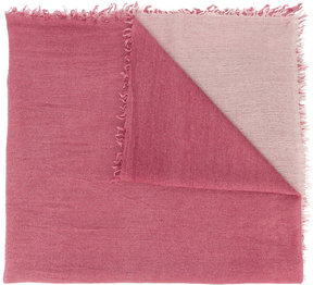 Faliero Sarti gradient knitted scarf