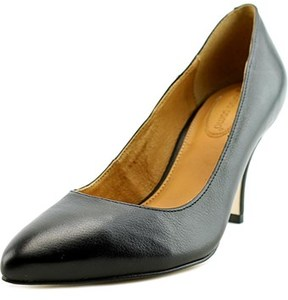 Corso Como Corrina Women Pointed Toe Leather Black Heels.