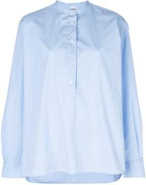 Aspesi collarless shirt