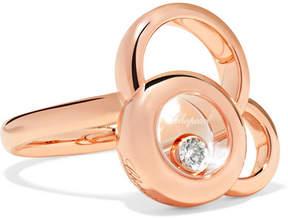 Chopard Happy Dreams 18-karat Rose Gold Diamond Ring