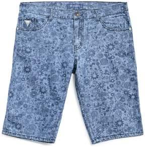 GUESS Floral Denim Shorts (8-18)