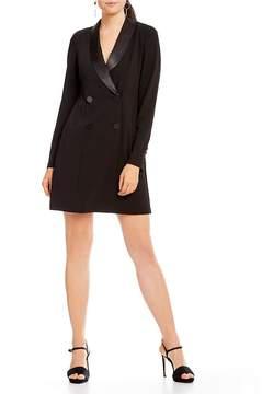 Donna Morgan Tuxedo Mini Dress