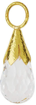 Elizabeth Locke Faceted White Topaz Eggplant Pendant