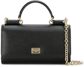 Dolce & Gabbana mini 'Von' wallet crossbody bag - BLACK - STYLE