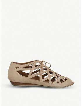 Office Arabian Nights 2 suede lattice sandals