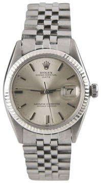 Rolex Date Oyster Perpetual Stainless Steel Automatic Mens Watch Year: 1978
