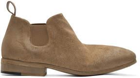 Marsèll Brown Suede Dodo Chelsea Boots