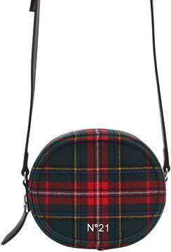 N°21 Round Plaid Shoulder Bag