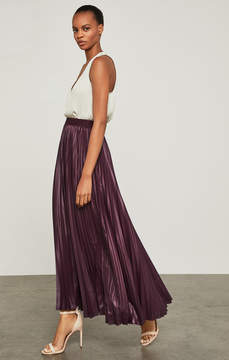 BCBGMAXAZRIA Dallin Pleated Maxi Skirt