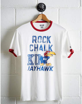 Tailgate Men's Kansas Rock Chalk Ringer T-Shirt