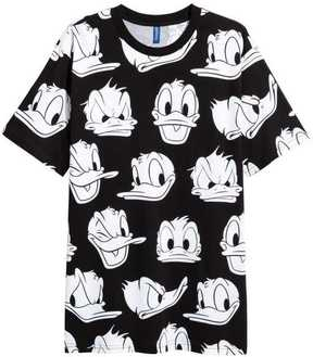 H&M T-shirt with Printed Pattern