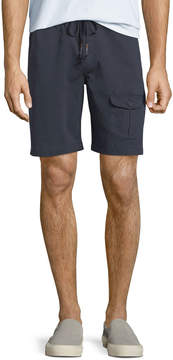 Michael Bastian Men's Garment-Dyed Flap-Pocket Shorts